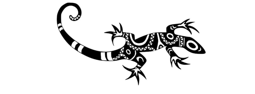 Tribal Lizard