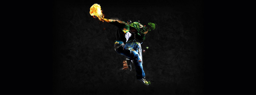 Breakdance fire