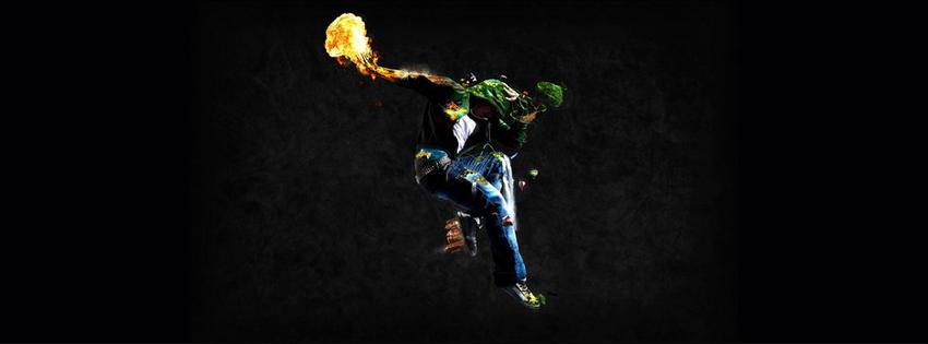 Breakdance fire
