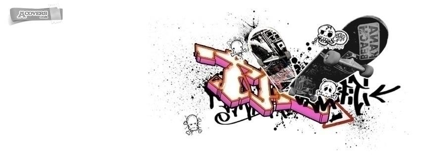 Skate graffiti